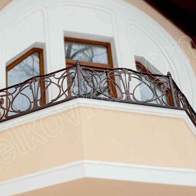 Ковка балкона модерн