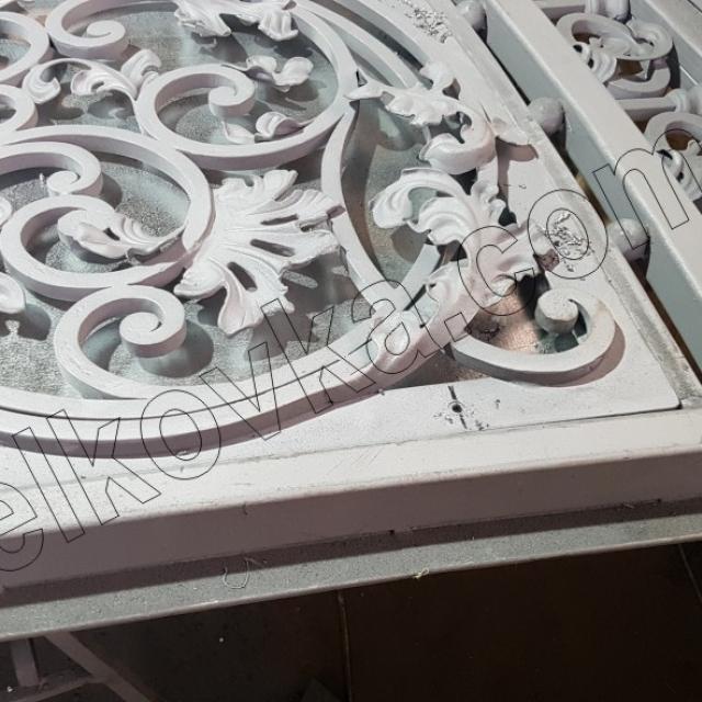 Оцинковка кованых ворот
