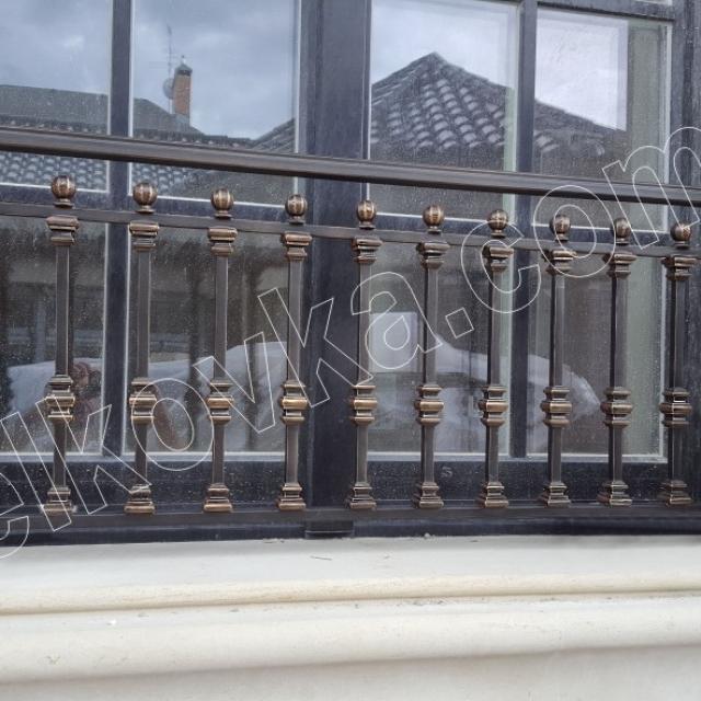 Французский балкончик ковка