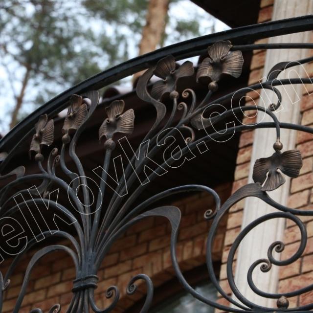 Легкая ковка на балкон