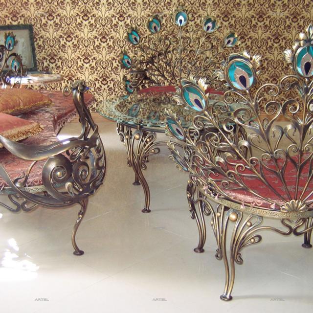Комплект мебели Павлин