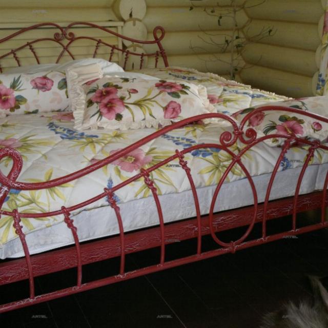 Кровать кованая Прованс