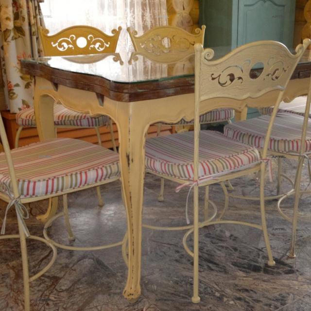 Мебель кованая Прованс