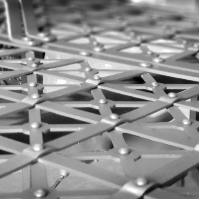 Сетка для мебели в стиле индустриальный дизайн