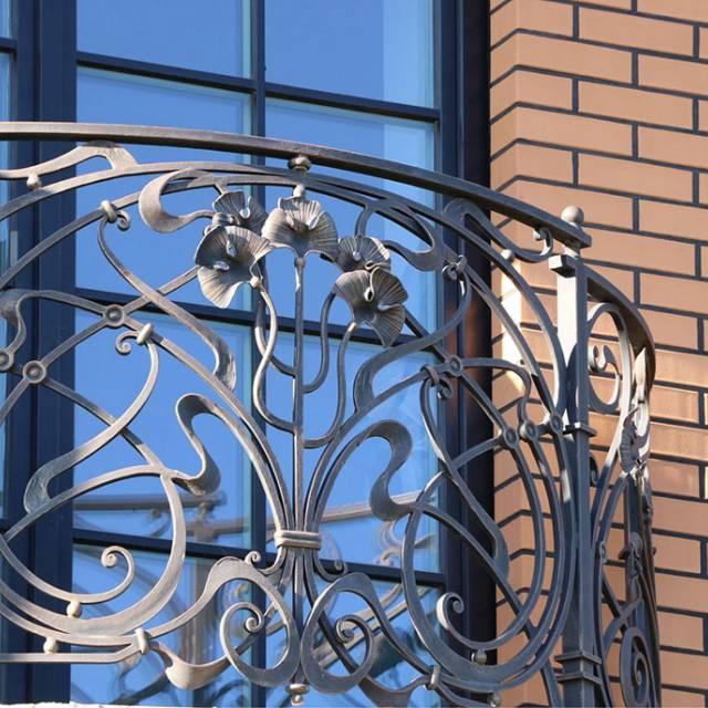 Современная ковка на балкон