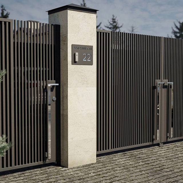 Кованые ворота для дома распашные