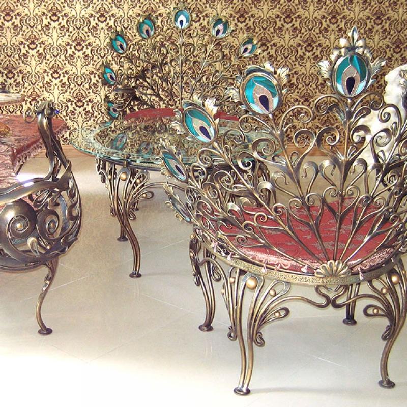 Кованая мебель Киев Украина. Заказать художественную ковку мебели в Киеве. Кузнечная мастерская
